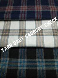 Yarn Dyed Cadbury Check Fabric 58''