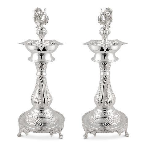 Peacock Lamp Set