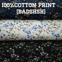 Cotton Print Fabric  (Badshah) 58''