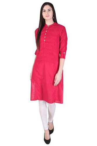Cotton Plain Kurti