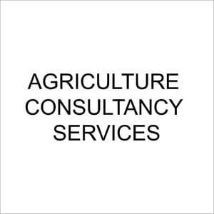 Agriculture Consultancy Services