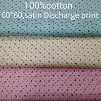Shirting Satin Print Fabric 58''