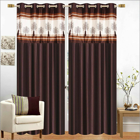 Designer Long Crush Curtain