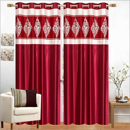 Long Crush Curtains