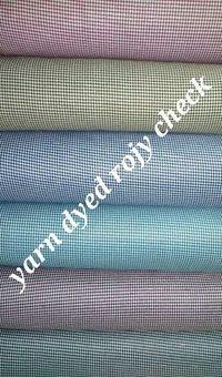 Yarn Dyed Rozy Check  Fabric 58''