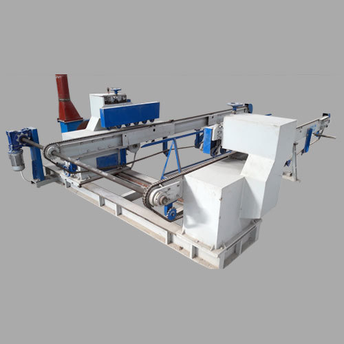 Automatic Double Diamond Chain DD Saw Machine