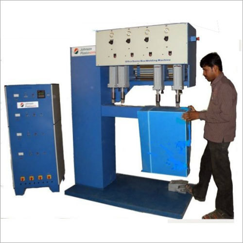4 Head Corrugated Ultrasonic Welder