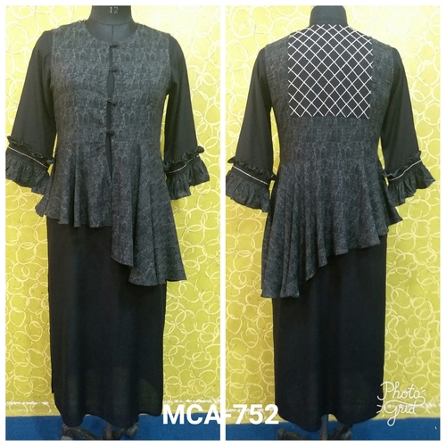 Cotton Straight Kurti