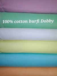 Cotton Burfi Dobby Fabric  58''