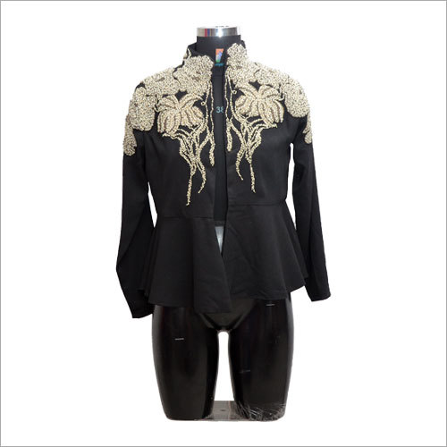 Ladies Customized Embroidered Jacket