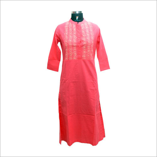 Ladies Customized Cotton Kurti