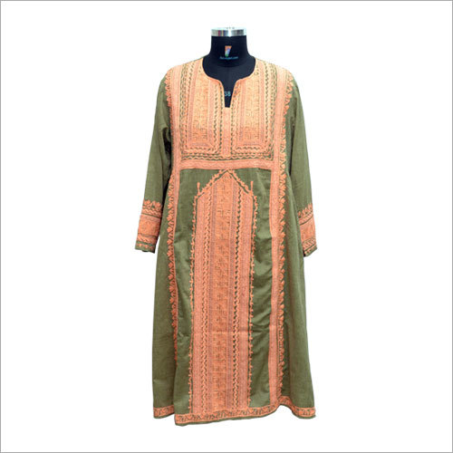 Ladies Customized Embroidery Kurti