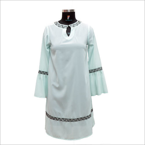 Ladies Customized Round Neck Kurti
