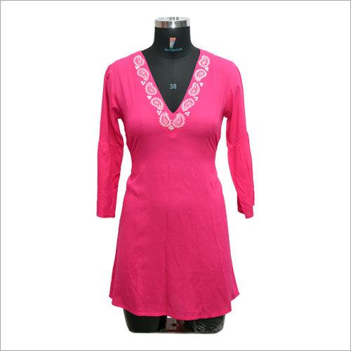 Ladies Custom Design Rayon Top