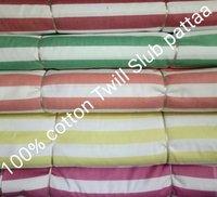 Shirting Twill Slub Patta Fabric 58''