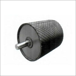 Head Pulley with Rubber lagging sheet