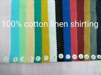 Linen Shirting Fabric 58''