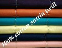 Shirting Satin Twill  Fabric 58''