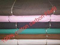 Shirting Carbon Filafil Fabric  58''