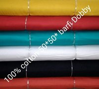 Shirting Cotton  Burfi Dobby Fabric 58''