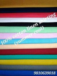 Cotton Linen Shirting Fabric  (Summer-Cool) 58''