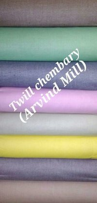 Shirting Twill Chembery (Arvind Mill) 58''
