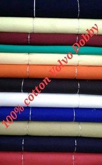 Shirting Cotton Volvo Dobby Fabric 58''