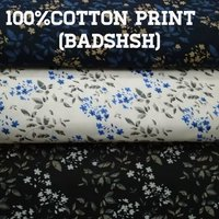 Shirting Cotton Printed Fabric (Badshah) 58''