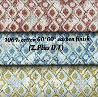 100% Cotton 60x60 Carbon Finish (Z Plus D.T)