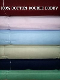 Shirting Cotton Double Dobby Fabric 58''