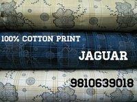 Shirting Cotton Print Jaguar Fabric  58''