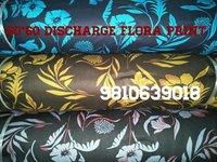 Shirting Discharge Flora  Print  Fabric 58''