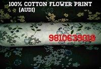 100% Cotton Flower Print (AUDI) 58''
