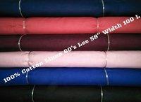 100% Cotton Linen 60's Lee 58'' Width 100L