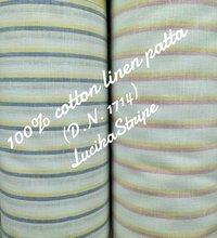100% Cotton Linen Patta (Lucika Stripe) 58''