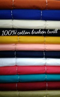 100% Cotton Broken Twill 58''