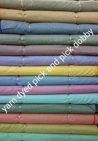 100% Cotton Yarn Dyed Pick & Pick Dobby 58''