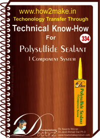 Polysulfide Sealent Single Component(334 tnhr) Technical knowhow