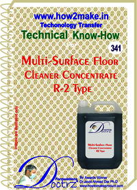 Multi-Surface Floor Cleaner Concentrate R-2 Type