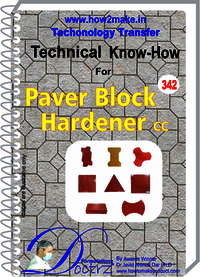 Paver Block Hardener CC  technical know how report