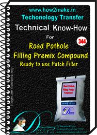 Road Pothole Filling Premix Compound