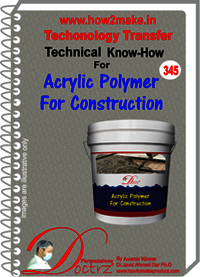 Acrylic polymer for concrete and construction works TNHR345