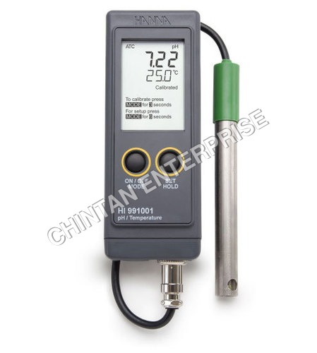 Waterproof Portable pH/Temperature Meter-991001
