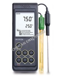 Waterproof Portable pH Meter - 9124