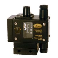 2 SPDT High range Pressure Switch MJ series