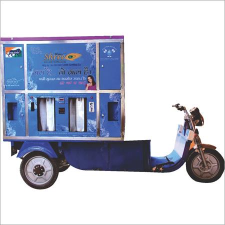 E-rickshaw Water Vending Machine