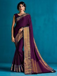 Aura Sahana Pure Cotton Silk Saree 9 Pcs