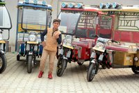 E Passenger Rickshaw