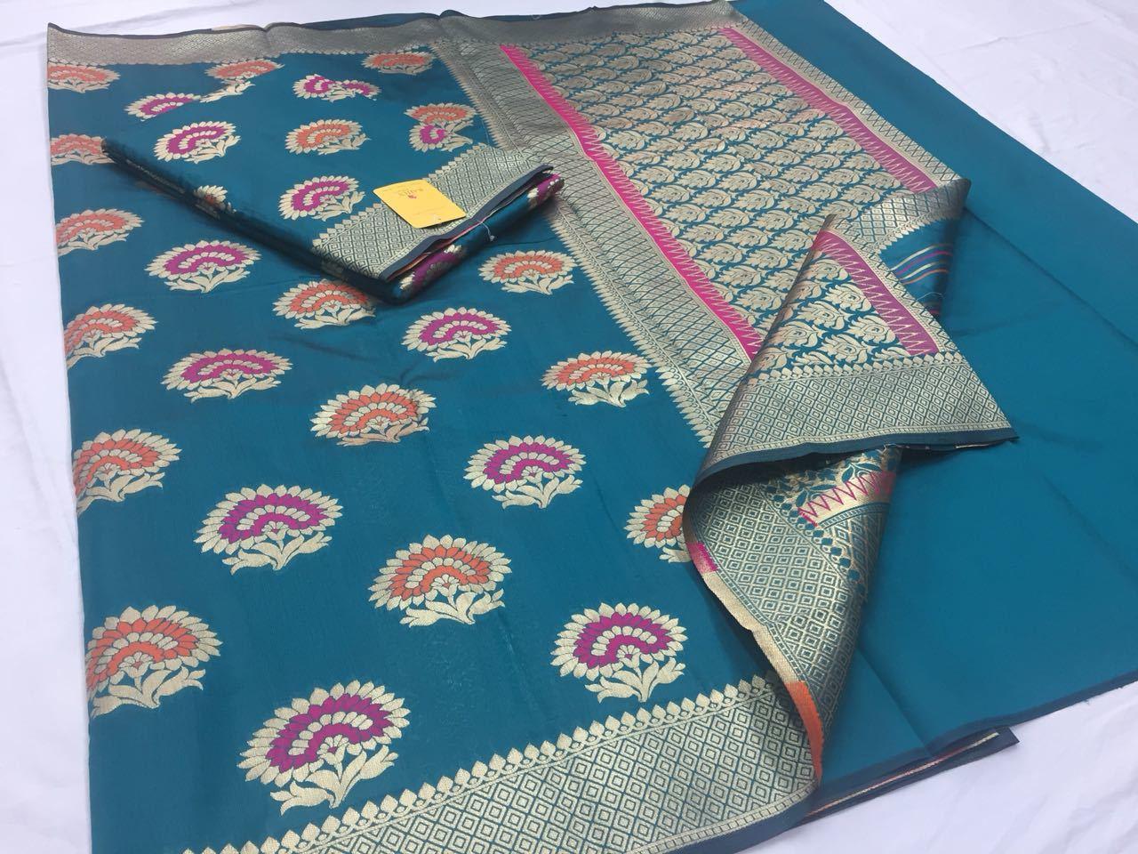 Rajtex Pure Silk Saree Collection Heavy Zari Butta