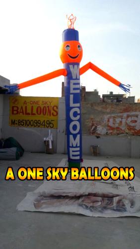20ft Custom Air Inflatable Tube Man